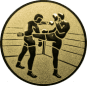 Emblem 50 mm 2 Kickboxer, gold