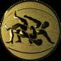 Emblem 50 mm Ringen, gold