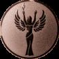 Emblem 50 mm Siegesgöttin, bronze