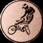 Emblem 50mm BMX, bronze