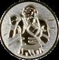Emblem 25mm Boxer 3D, silber