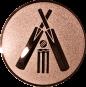 Emblem 50mm Cricket, bronze