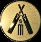Emblem 50mm Cricket, gold