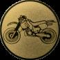 Emblem 50mm Crossbike, gold