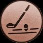 Emblem 50mm Golfschläger, bronze