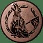 Emblem 50mm Golftasche, bronze