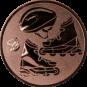 Emblem 50mm Inlineskate, bronze