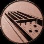 Emblem 50mm Jakkolo, bronze