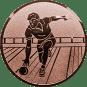 Emblem 50mm Kegler M2, bronze