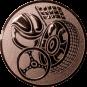 Emblem 50mm Motorsport, bronze