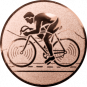 Emblem 50mm Rennrad, bronze