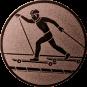 Emblem 50mm Skiroller, bronze