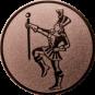 Emblem 50mm Tambourmajor, bronze
