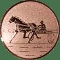 Emblem 50mm Traber, bronze