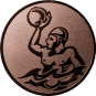 Emblem 50mm Werfer Wasserball, bronze