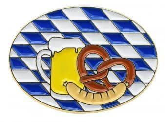 """Oktoberfestpin """"Bier Brezel Wurst"""""""