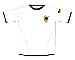 Trikot weiß Deutschland