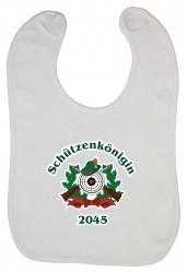 "Babylätzchen ""Schützenkönigin 2045"""