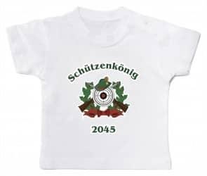 "Babyshirt ""Schützenkönig 2045"""
