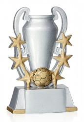 Fußball mit Pokal & 6 Sternen FS16906