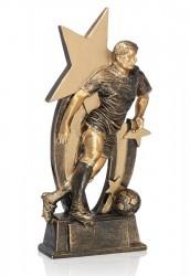 Fußballer mit Ball & 3 Sternen FS16941