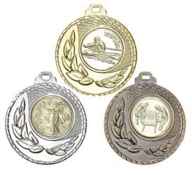 """Medaille """"Kamiros"""" Ø 50mm mit Wunschemblem und Band"""