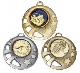 """Medaille """"Sparta"""" Ø 50mm mit Wunschemblem und Band"""