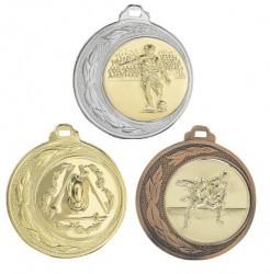 """Medaille """"Tegea"""" Ø 70mm mit Wunschemblem und Band"""