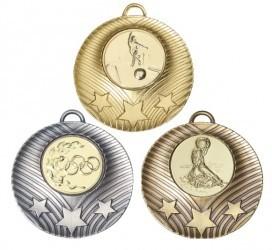 """Medaille """"Theben"""" Ø 50mm mit Wunschemblem und Band"""