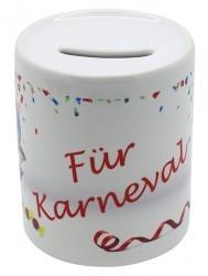 """Spardose """"Für Karneval"""" NEU"""