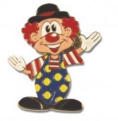 winkender Clown mit Hut