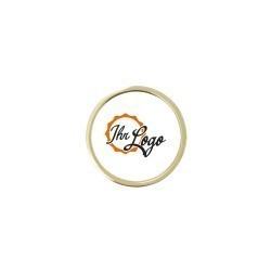Expresspin rund 23 mm mit Ihrem Logo