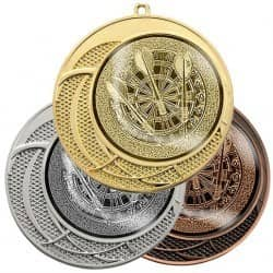 """Medaille """"Delphi"""" Ø 70 mm inkl. Wunschemblem und Kordel"""