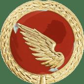 Auflage linker Flügel rot