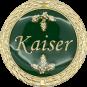 Auflage Kaiser grün
