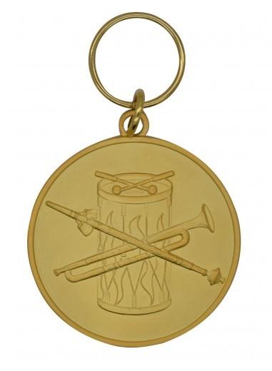 """Medaille""""Fanfarenzug"""" gold"""