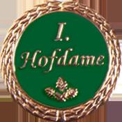 Anstecknadel 1. Hofdame