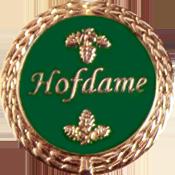 Anstecknadel Hofdame