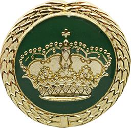 Anstecknadel Krone