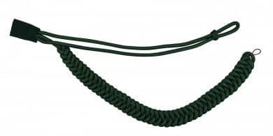Fangschnur grün 1 Breitgeflecht und 1 Schlinge