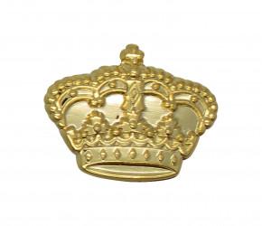 Krone als Anstecker