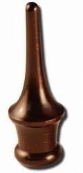 Stangenabschluß Holz
