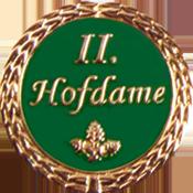 Anstecknadel 2. Hofdame