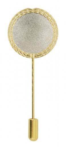 Anstecknadel silber/gold