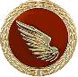 Anstecknadel Pfänder linker Flügel