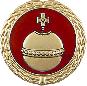 Anstecknadel Reichsapfel