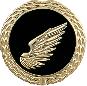 Anstecknadel Pfänder rechter Flügel