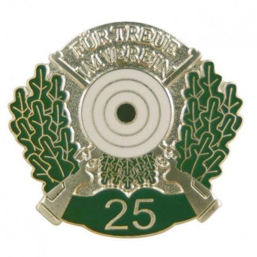 Jubiläumsnadel mit Zahl 25