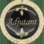 Auflage Adjutant schwarz