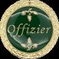 Auflage Offizier grün